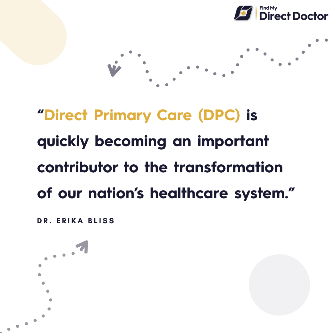 Direct primary care model