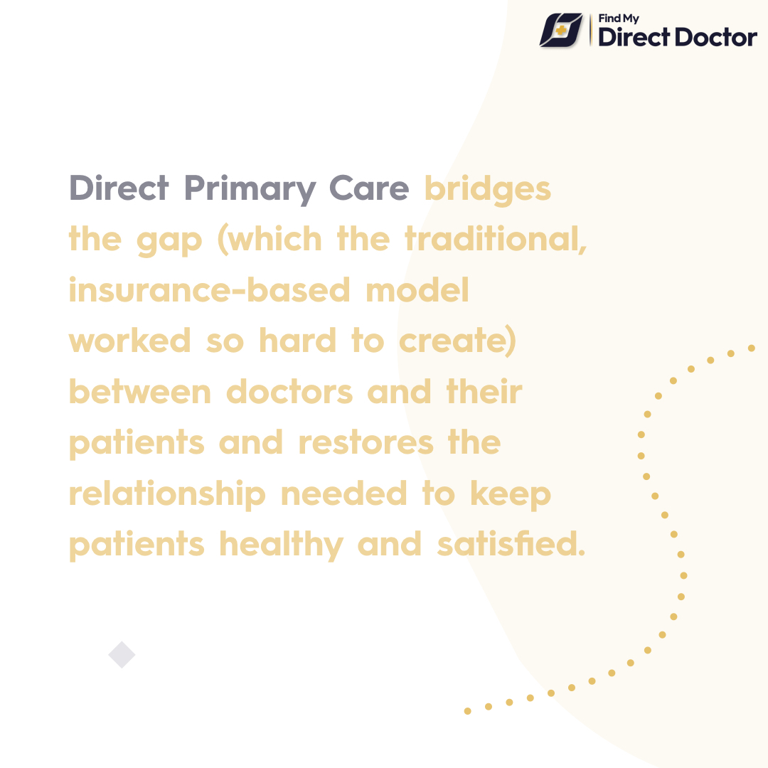 Direct primary care is the future of american health care system